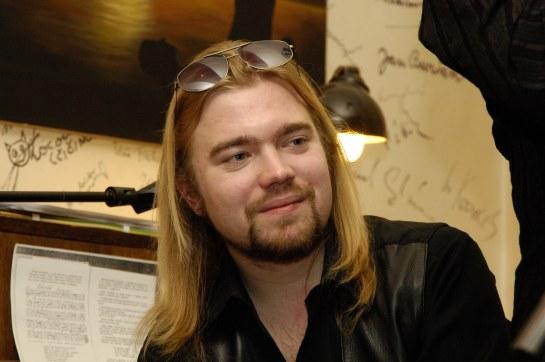 v Salmovské literární kavárně při pořadu S knihami se kamarádím, 30.1. 2007